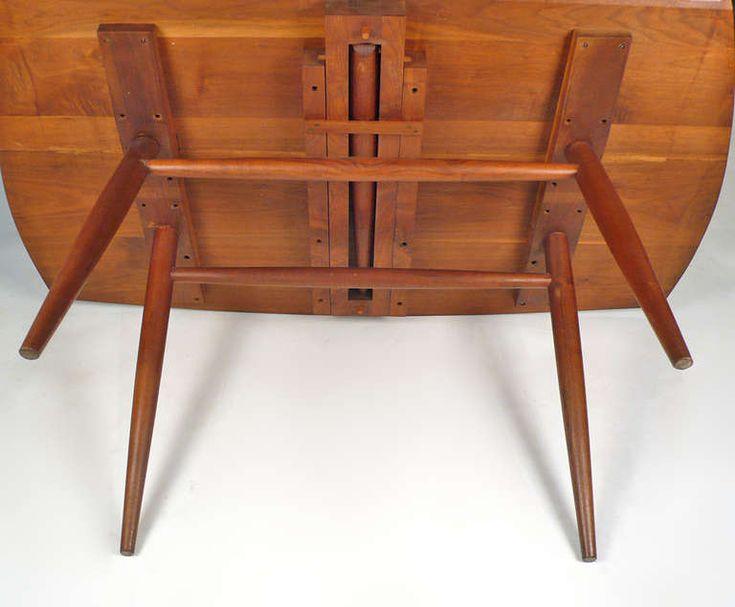 Drop Leaf Table Desk By George Nakashima George Nakashima Drop Leaf Table And Leaf Table