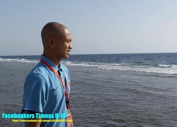 #football #timnasU-19 muchlis hadiN #striker