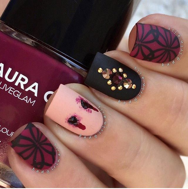 78 halloween nail art designs and ideas
