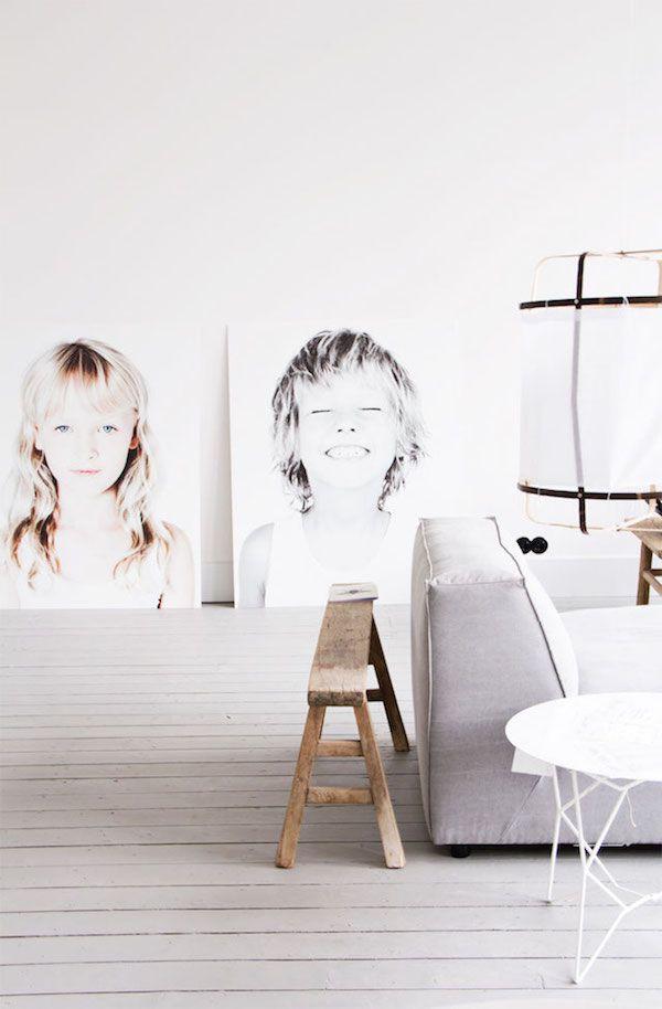 beautiful giant portraits