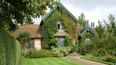 Exterior View Of Garden Cottage Polesden Lacey Surrey
