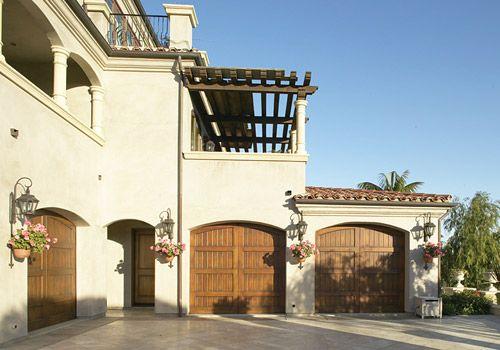 10 best home garage door wood fix images on pinterest for Aggiunta di garage ranch rialzato