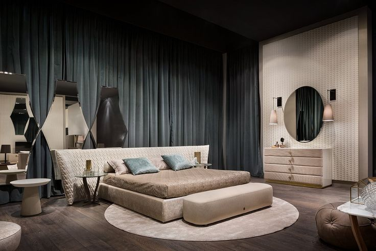 SEMIRA #BED! #controlucehome by @albertapf  Milano 2017, Thanks! #salonedelmobile #milano  #albertamadeinitaly #interiordesign #design #furniture