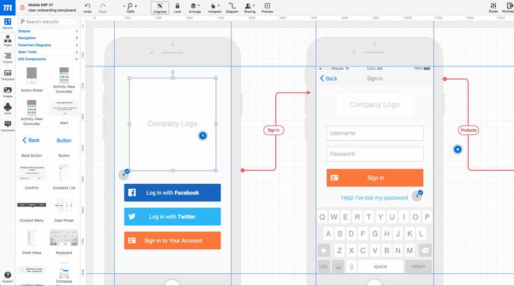 The 59 Best Prototyping Tools for UI and UX Designers - Moqups is a web-based prototyping tool that helps you create and collaborate on wireframes, mockups, diagrams and prototypes. You can create a functional prototype by adding interactivity to your designs, which simulate the user experience, uncover hidden requirements, find dead ends, and get final sign-off from all stakeholders before investing in development.