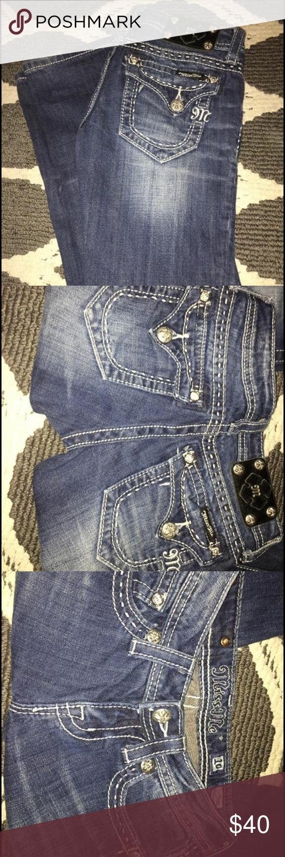 Selling this Girls Miss Me jeans on Poshmark! My username is: kenzee22. #shopmycloset #poshmark #fashion #shopping #style #forsale #Miss Me #Other