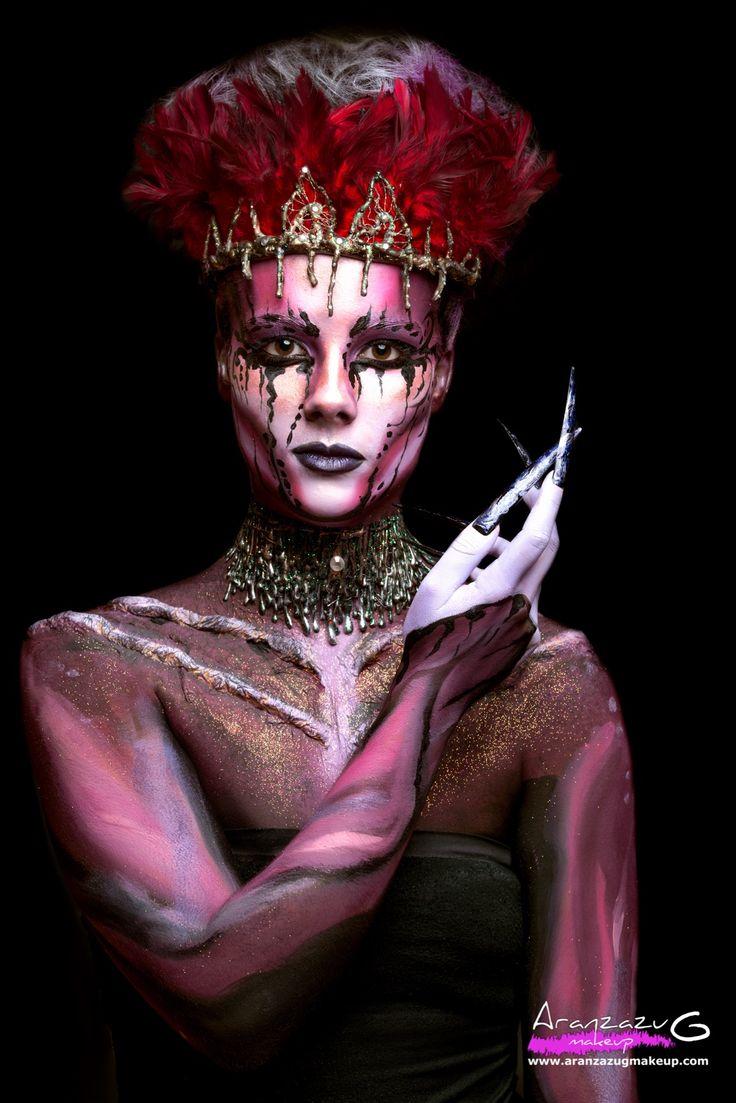 Maquillaje y Estilismo: Aranzazu G Make Up Modelo: María Moreno Fotografía: @garciap175