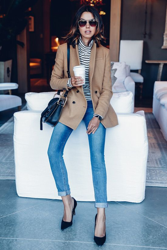30 Stylish Ways To Wear A Camel Coat