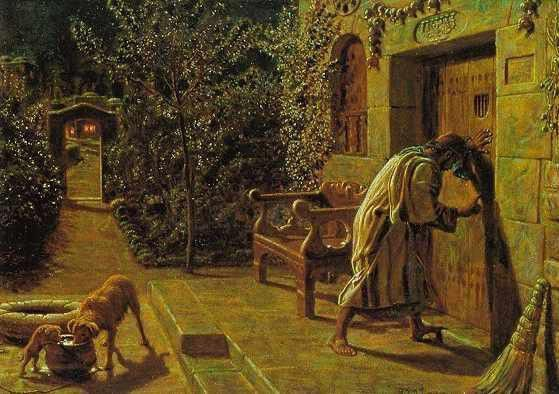 The Importunate Neighbour   William Holman Hunt
