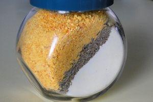 Пудра для ванны «Клеопатра»: молотая морская соль молотая сухая кожура цитрусовых немного соды смолотые цветки лаванды и розмарина сухое молоко