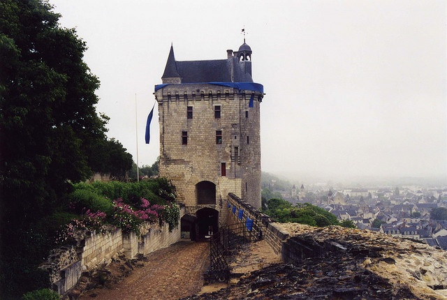 Chateau de Chinon - where Grady and Anna reunite with Trent and Joe — (Chapter 93 - Gathering Storm)