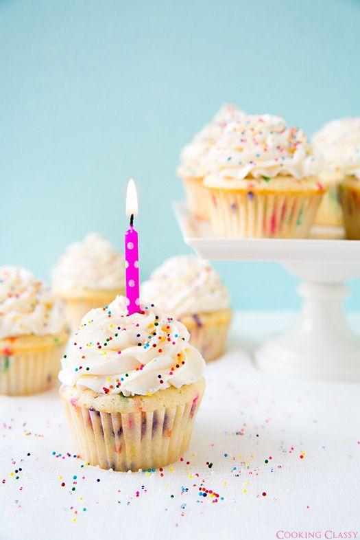 Funfetti Cupcakes | Cooking Classy