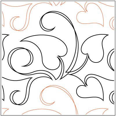 Free Motion Quilting Designs Hearts : 17 Best images about Free Motion Quilting Hearts on Pinterest Wmf, Quilt and Shops