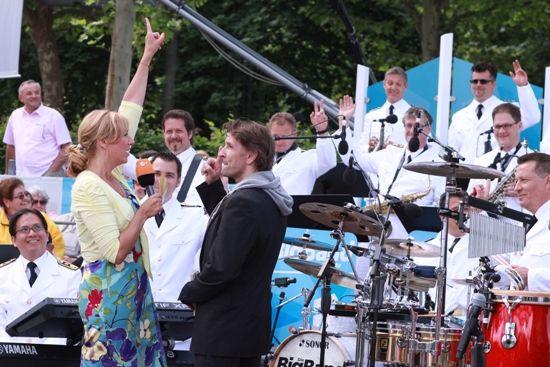 Die Band mit Marc Keller