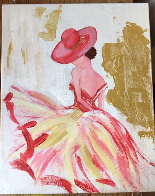 Les 25 meilleures id es de la cat gorie la peinture de tulipe sur pinterest one stroke - Modele peinture acrylique debutant ...