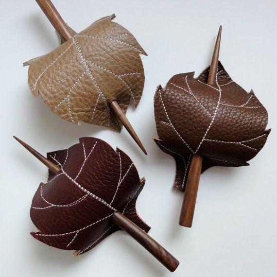 http://www.etsy.com/listing/85878389/leaf-hair-stick-barrette-eco-friendly