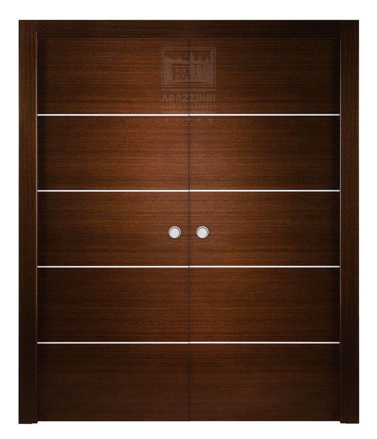 Arazzinni Avanti Interior Double Pocket Door Black Apricot