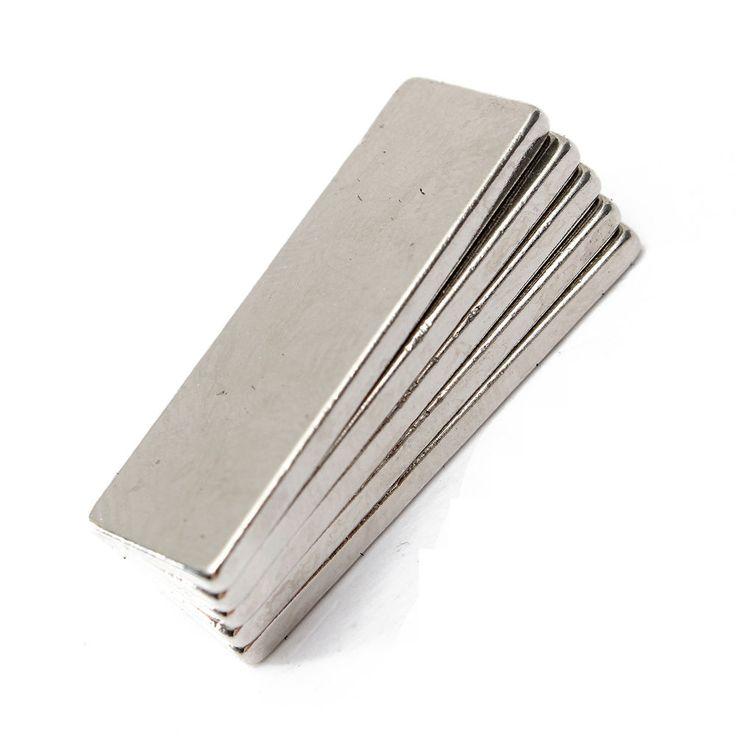 Puissant Aimant Neodyme Rectangulaire Magnet Bloc Magnetique N35 30x10x2mm