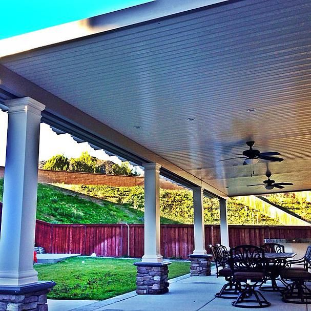 De 25 bedste ideer inden for vinyl patio covers pa for Vinyl patio cover kits