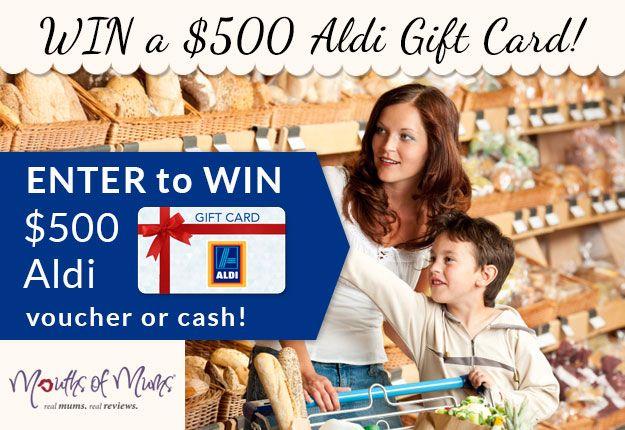 WIN a $500 ALDI gift card!