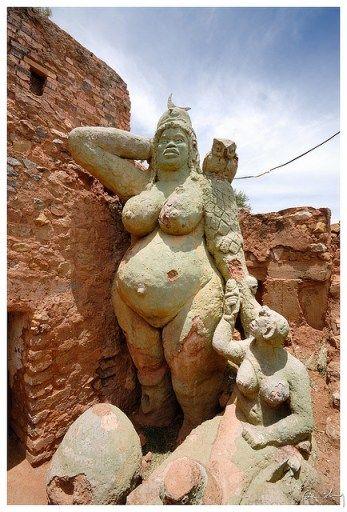 African Moon Goddess – African Athena by Credo Vusamazulu Mutwa