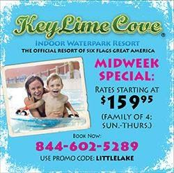 Key Lime Cove Midweek Special