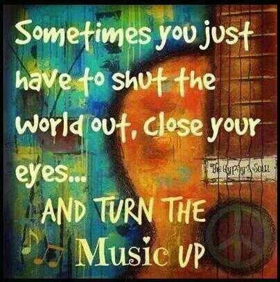 Shut out the world, close your eyes & crank the volume.