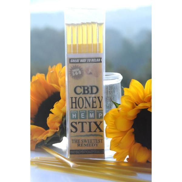 H.E.M.P. CBD Honey Sticks (Honey Stix) truly are the sweetest remedy. Packed with 1.2 mg of CBD (Cannabidiol) in every honey stick. 7 honey sticks per package. Let the CBD relax and ease your tensions and the natural honey satisfy your sweet tooth. CBD Honey Stix are vegan friendly, USDA organic and certified organic RAW. Made with Organic Virgin Hemp seed oil. Hemp seeds are a high source of Omega3, Omega6 & Omega9 essential fatty acids and a great source of protein. Ingredient...