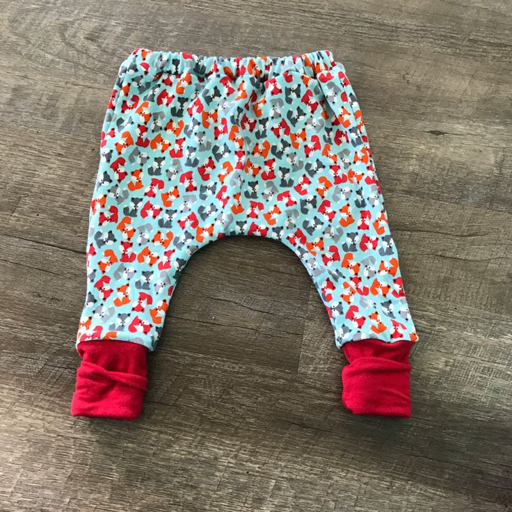 A personal favorite from my Etsy shop https://www.etsy.com/listing/490664184/little-fox-harem-leggings-sew-twich-baby