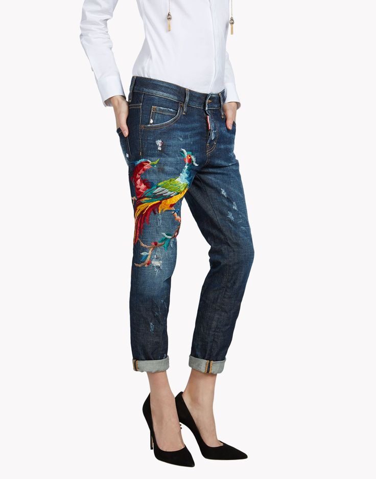 Phoenix Cool Girl Jeans - Jeans Women - Dsquared Official Online Store
