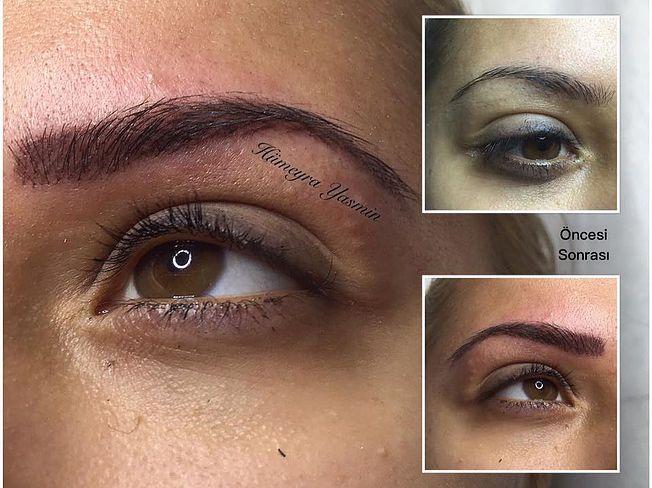KalıcıMakyaj| Kaş Konturu| Dudak Konturu| Eyeliner