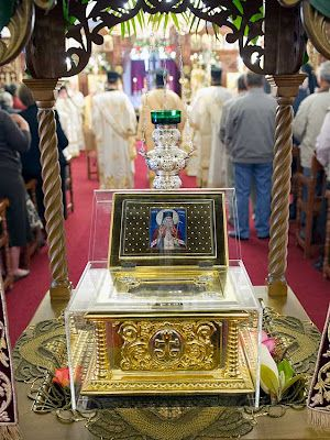 The Holy and Wonderworking Relics of St. Luke the Surgeon