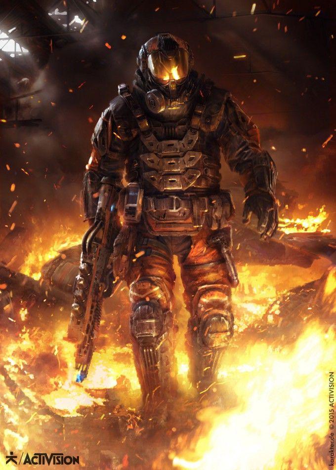 Call of Duty: Black Ops III Marketing Art by Karakter Design Studio