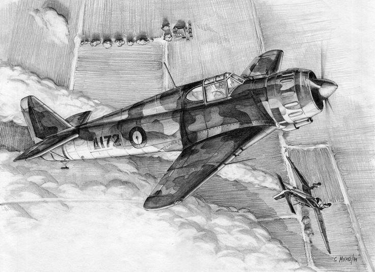 "Bloch MB.151/C1 ""Δ172"" – Moris Georgios / Μώρης Γεώργιος"