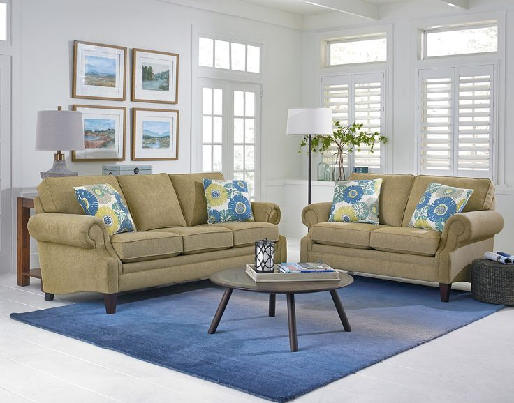 Experience The Xandia Collection In Our Katya Chamomille Fabric. Quality  Construction And Attention To Detail. England FurnitureFurniture ...