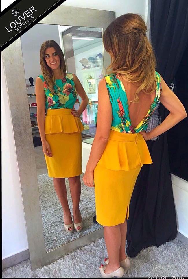 No podemos negar que nos encanta combinar la falda Fedua con nuestra blusa Bibiana de nueva colección!! Luce espalda y conviértete en la invitada perfecta! #louvermarbella#totallooklouver#invitadaperfecta#faldapeplum#fedua#blusabelinda#belinda#showroom#mode#moda#fashion#pretty#