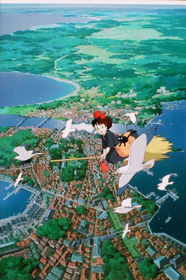 「魔女の宅急便」 (c)1989 角野栄子・二馬力・GN