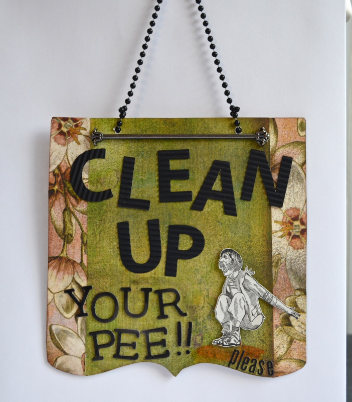 how to clean pee from a fo