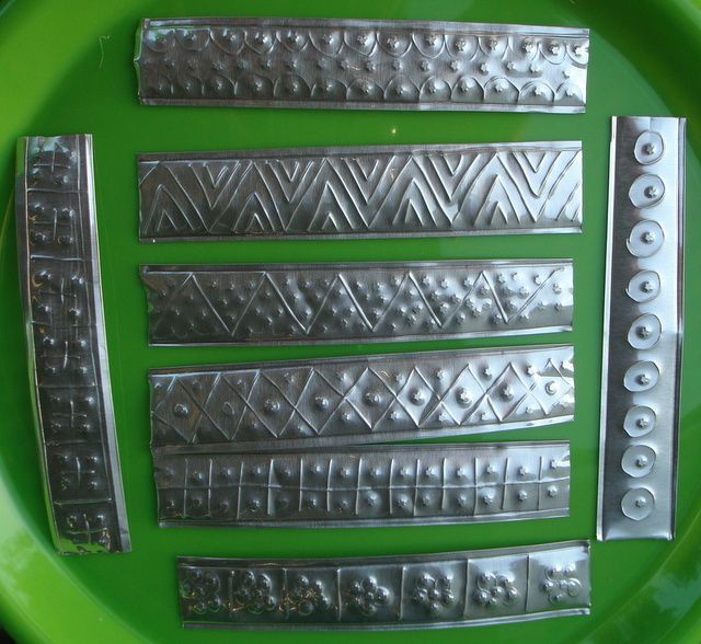 25 best ideas about tin can decorations on pinterest for Metal sheets for crafting
