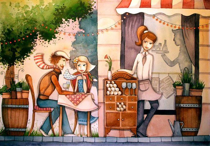 Róth Anikó-café
