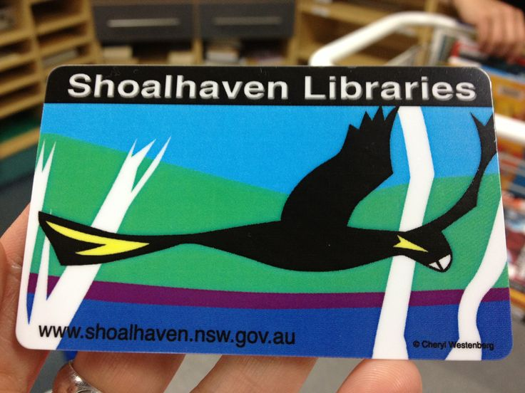 Shoalhaven Libraries, NSW, Australia. Our Central Library is located in Nowra, which is the Aboriginal name for 'black cockatoo.'