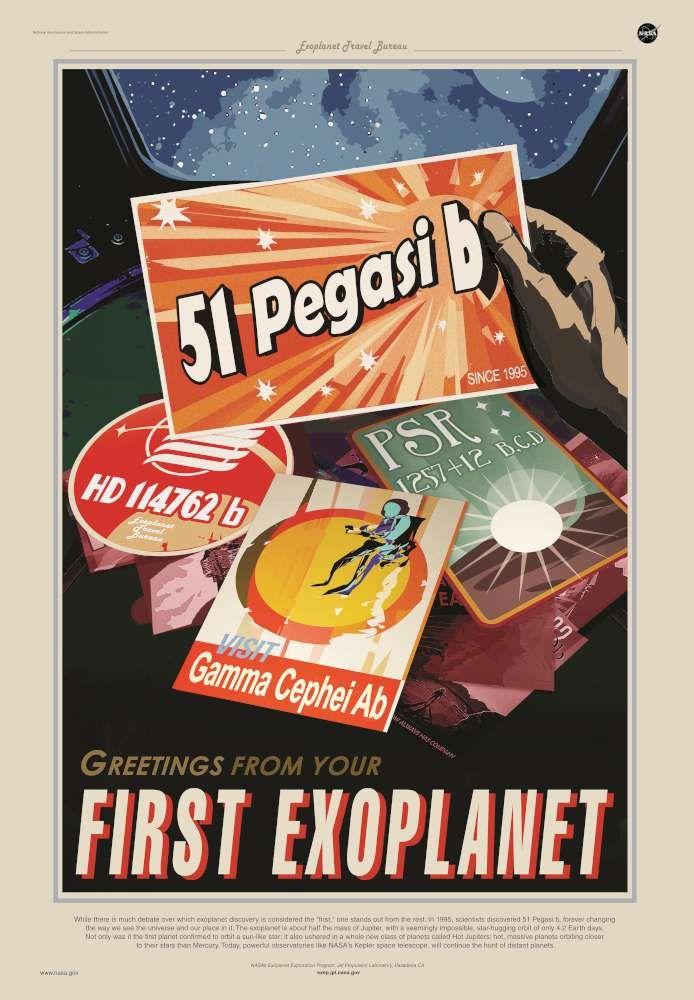 Vacanze nello spazio formato poster, la Nasa illustra i viaggi cosmici del futuro - Tgcom24 - Foto 9