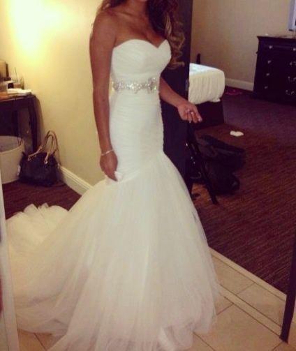 Mermaid wedding dress - Wedding look