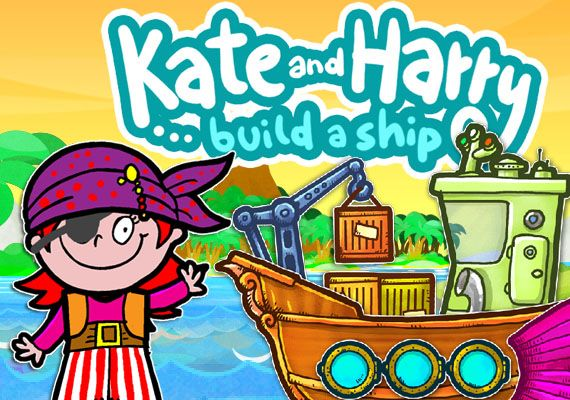 "Build a ship. Or a submarine. Or a pirate pear boat! ""Build a Ship with Kate and Harry"" is FREE for a limited time. Download link: https://itunes.apple.com/us/app/build-ship-kate-harry/id563467366?mt=8"
