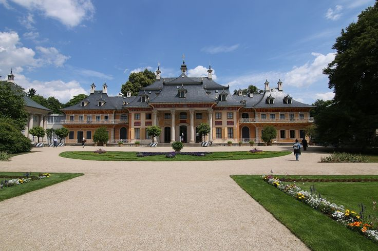 #Castle #Pillnitz. #Dresden, Germany