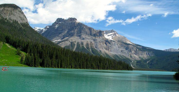 Emerald Lake by Karen Theuser-Scheib