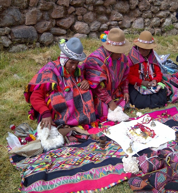 Despacho Ceremony in Peru: