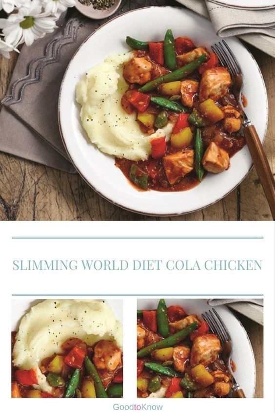 Slimming World's diet cola chicken is surprisingly savoury and very moreish!