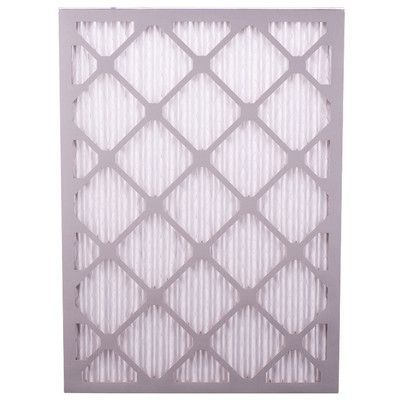 "Quality Filters, Inc Dust and Pollen Air Conditioner Air Filter Size: 24"" H x 16"" W x 1"" D"