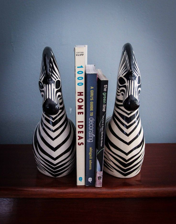 These Zebras can be used for display purchases or as doorstops or book stoppers. They are handmade in South Africa. Purchase them from www.wave2africa.com