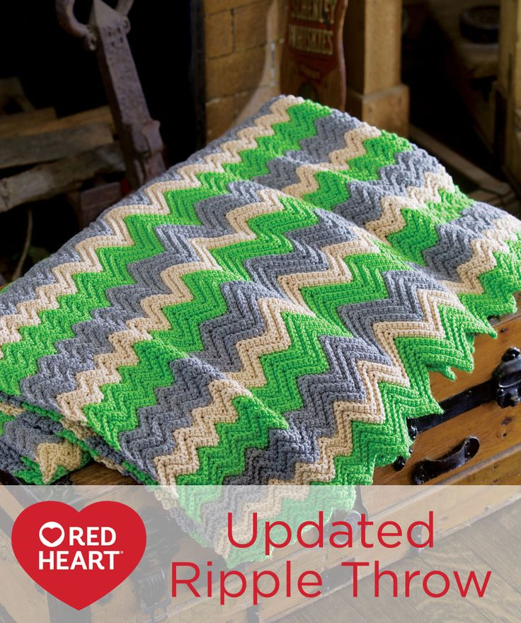 Free Knitting Pattern Updated Ripple Afghan : 513 best images about Crochet Afghans on Pinterest Free pattern, Yarns and ...